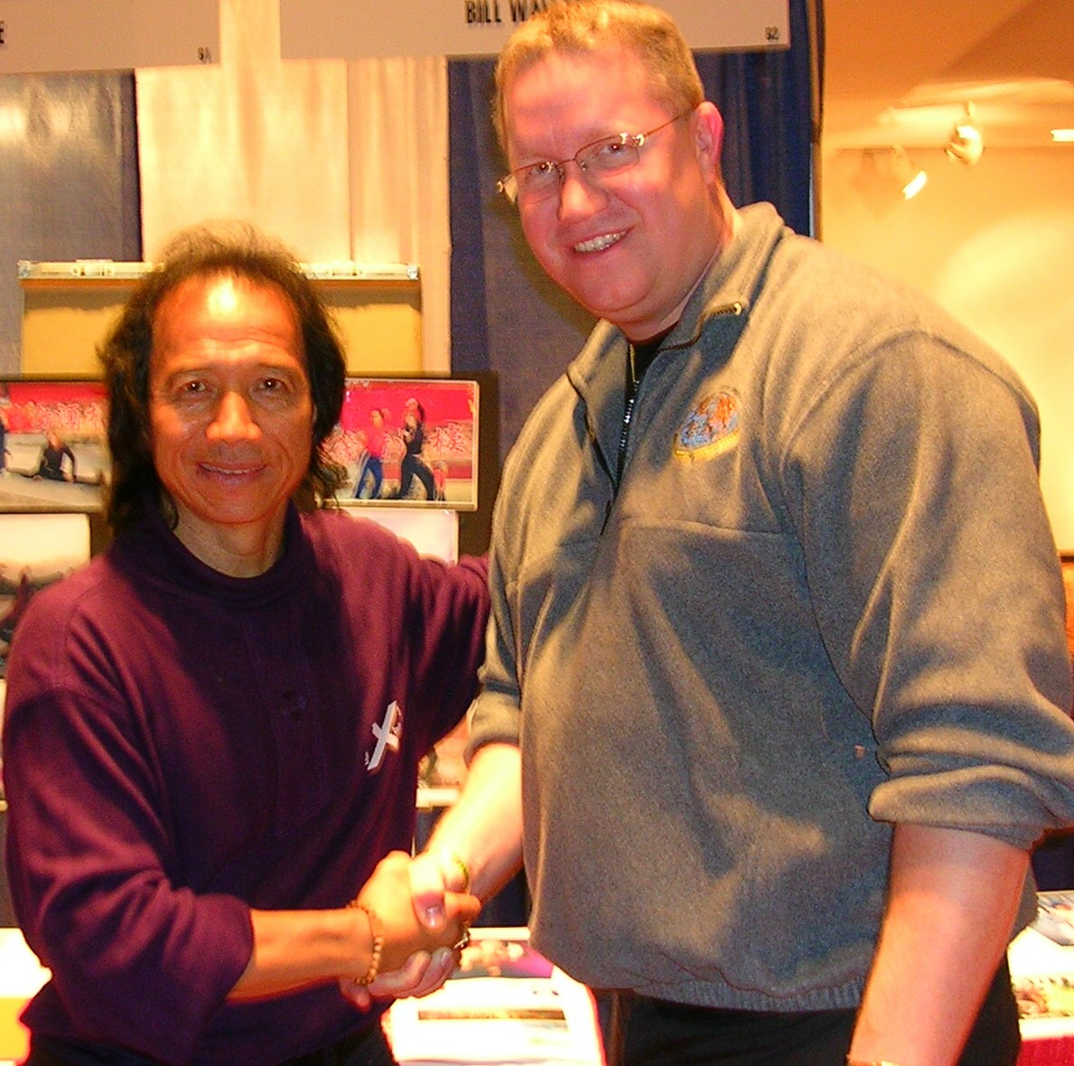 Sifu Eric Lee and Sensei  K P